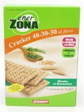 ENERZONA® CRACKER 40-30-30 AL FARRO RICETTA AL ROSMARINO 7 MINIPACK DA 25 G