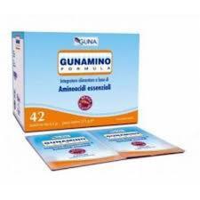 GUNAMINO FORMULA INTEGRATORE ALIMENTARE - 42 BUSTE