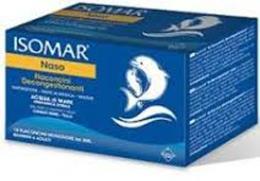 ISOMAR® NASO FLACONCINI DECONGESTIONANTI DI ACQUA DI MARE - 18 FLACONCINI DA 5 ML