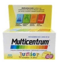 MULTICENTRUM JUNIOR 30 COMPRESSE
