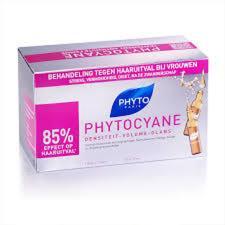 PHYTO - PHYTOCYANE TRATTAMENTO SPECIFICO CADUTA DONNA - 12 FIALE DA 7,5 ML + 6 IN OMAGGIO
